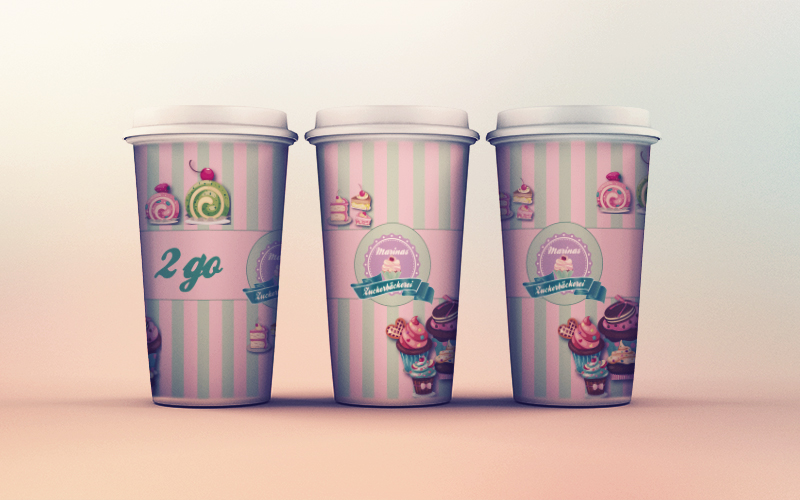 coffe to go logo design