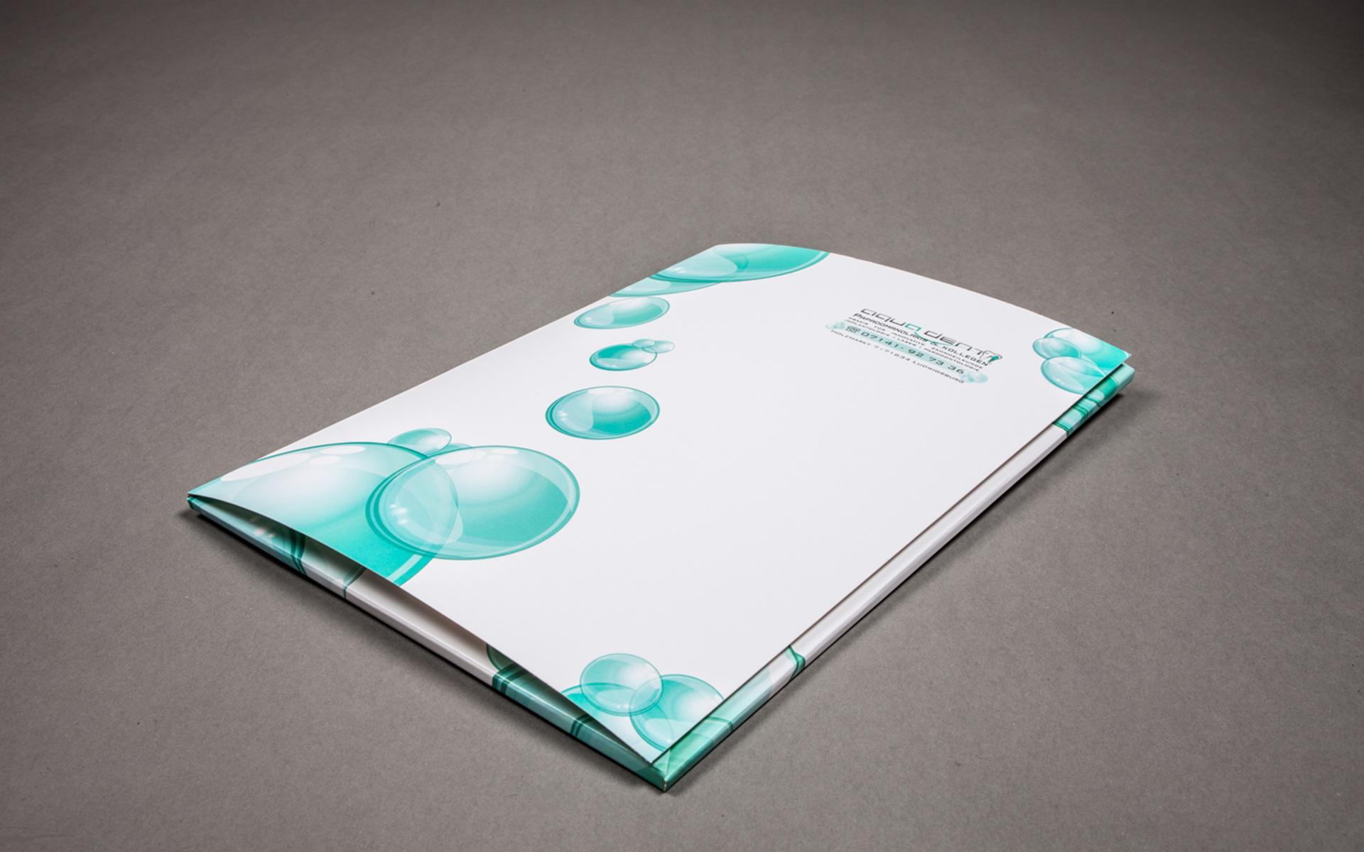 Angebotsmappen Arztpraxis, Visitenkarten Arztpraxis, Briefpapier Arztpraxis